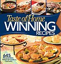 Taste of Home Winning Recipes 645 Recipes from National Cooking Contests