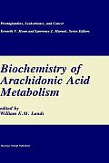 Biochemistry of Arachidonic Acid Metabolism