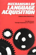 Mechanisms Lang.Acquisitions P