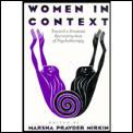 Women In Context Toward A Feminist