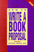 How To Write A Book Proposal Revised