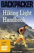 Backpacker Hiking Light Handbook Carry Less