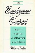 The Employment Contract: Rights and Duties of Employers and Employees