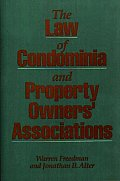 The Law of Condominia and Property Owners' Associations