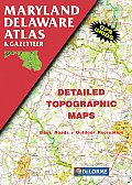 Maryland/Delaware Atlas & Gazetteer-3rd Edition (Maryland, Delaware Atlas & Gazetteer)