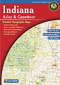 Indiana Atlas & Gazetteer (Indiana Atlas & Gazetteer)