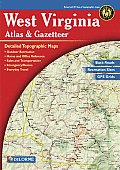 West Virginia Atlas & Gazetteer 3rd Edition (West Virginia Atlas & Gazetteer)