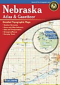 Nebraska - Delorme 2nd Edition (Nebraska Atlas & Gazetteer)
