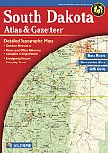 South Dakota Atlas & Gazetteer 2ND Edition