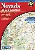 Nevada Atlas & Gazetteer 2ND Edition
