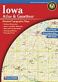 Iowa Atlas & Gazetteer 2ND Edition