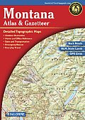 Montana Atlas & Gazetteer 4TH Edition