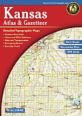 Kansas - Delorme 1st Edition (Kansas Atlas & Gazetteer)