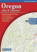 Oregon Atlas & Gazetteer 4TH Edition