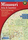 Missouri - Delorme 3rd Edition (Missouri Atlas & Gazetteer)