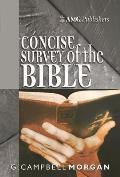 Amg Concise Survey of the Bible