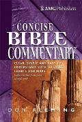 Amg Concise Bible Commentary,