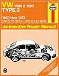 Haynes VW Type 3 1500 & 1600 Owners Workshop Manual #084: Volkswagen Type 3, 1500 and 1600: Owner's Workshop Manual