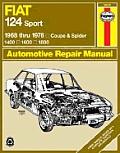 Haynes Fiat 124 Sport Owners Workshop Manual #094: Fiat 124 Sport/Spider '68'78
