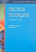 Practical Techniques: For Language Teaching Cover