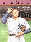 The National Pastime, Volume 16: A Review of Baseball History