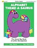 Alphabet Theme A Saurus The Great Big