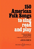 150 American Folk Songs To Sing Read & P