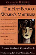 Holy Book Of Womens Mysteries Feminist