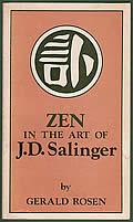 Zen In The Art Of J D Salinger