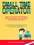 Small Time Operator How To Start 8th Edition