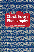 Classic Essays on Photography (80 Edition) Cover