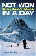 Not Won in a Day: Climbing Canada's Highpoints