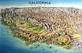 California & Nevada Folded Map