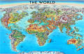 The World Folded Map