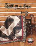 Make a Quilt in a Day Log Cabin Pattern (Quilt in a Day)