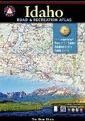Benchmark Idaho Road & Recreation Atlas