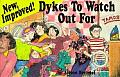 New, Improved! Dykes to Watch Out for: Cartoons (Dykes to Watch Out for) Cover