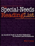 Special Needs Reading List