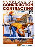 Handbook of Construction Contracting Vol 1 (Handbook of Construction Contracting)