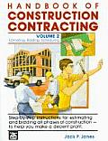 Handbook of Construction Contracting Volume 2 Estimating Bidding Scheduling