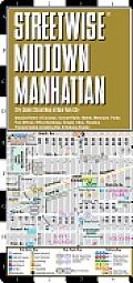 Streetwise Mid Manhattan Map