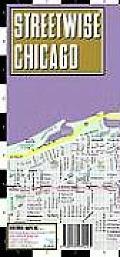Streetwise Chicago Map Laminated City Street Map of Chicago Illinios Folding Pocket Size Travel Map