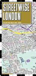 Streetwise London Map - Laminated City Street Map of London, England: Folding Pocket Size Travel Map (Streetwise)