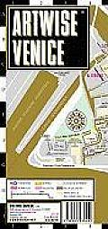 Artwise Venice Museum Map Laminated Museum Map of Venice Italy Folding Pocket Size Travel Map