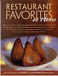 Restaurant Favorites at Home Part of The Best Recipe Series