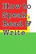 How To Speak, Read, & Write Persian