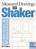 Measured Drawings Of Shaker Furniture & Woodenware
