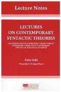 Lectures on Contemporary Syntactic Theories.  CLSI Lecture Notes, Number 3