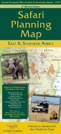 Safari Planning Map to East and Southern Africa