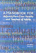A handbook for adjunct & part-time faculty & teachers of adults